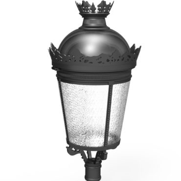LED Corolla Post Top Lantern TP498 Series 30W-120W