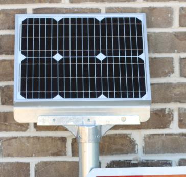 30″/36″ Solar L.E.D. blinking Octagon Stop Sign